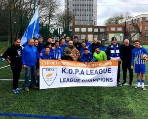 Πρωταθλήτρια KOPA League η Ανόρθωση (φωτογραφίες)